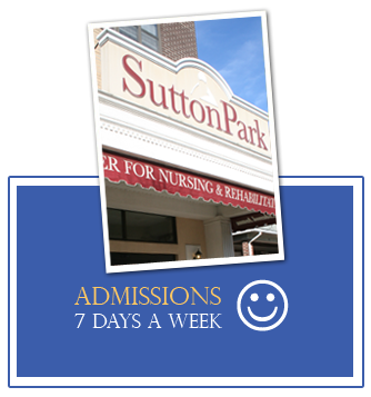 Admissions 7 Days A Week